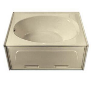 Aquarius Industries 60 x 42 in. Fiberglass Reinforced Plastic Bath With Coating in White AG2406TOLBPC