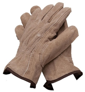 PROSELECT® Cowhide Split Leather Driver Gloves PSG2035
