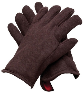 PROSELECT® Lined Brown Jersey Gloves 90/10 PSG1645