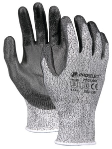 PROSELECT® HPPE Knit Gloves Cut Resistant Rubber Palm PSG1225