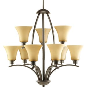 Progress Lighting Joy 9 Light 100W Chandelier PP4492