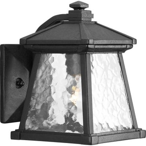 Progress Lighting Mac 75 W 1-Light Candelabra Lantern in Black PP590631