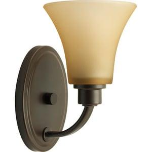 Progress Lighting Joy 100W 1-Light Medium Base Incandescent Wall Sconce PP2000