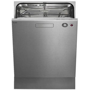 Asko 7 in. Spray 6 Temp Full Console Dishwasher in Stainless Steel AD5434XXLS