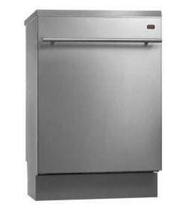 Asko Temperature Hidden Control Dishwasher in Stainless Steel AD5634HS