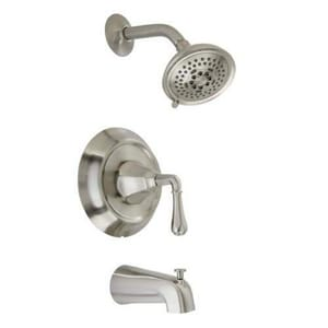 Mirabelle® Key West® 2.5 gpm Pressure Balancing Tub and Shower Trim with Single Lever Handle MIRKW8030