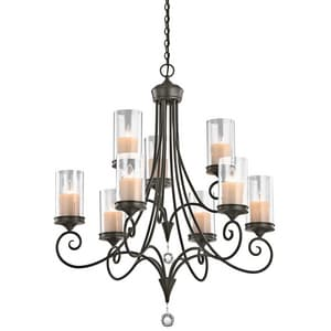 Kichler Lighting Lara™ 36 in. 60W 9-Light Chandelier KK42863