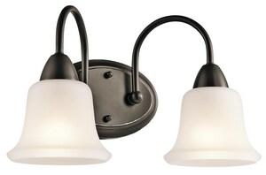 Kichler Lighting Nicholson™ 100W 2-Light Bath Vanity Fixture KK45882