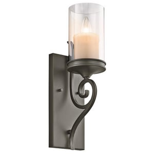 Kichler Lighting Lara™ 60W 1-Light Wall Sconce KK45362