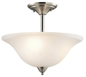 Kichler Lighting Nicholson™ 100W 3-Light Ceiling Light Fixture KK42879