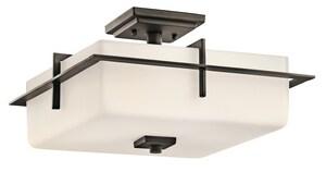 Kichler Lighting Caterham™ Outdoor Semi-Flush Lantern KK49641