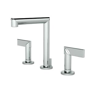 Newport Brass Keaton 3-Hole Widespread Lavatory Faucet with Double Lever Handle N2490