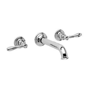 Newport Brass Ithaca 1.2 gpm 3-Hole Widespread Lavatory Faucet with Double Lever Handle N3-2551