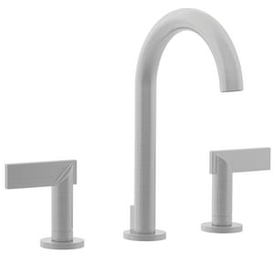 Newport Brass Priya 9-7/16 in. 1.2 gpm 3-Hole Widespread Lavatory Faucet with Double Lever Handle N2480
