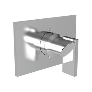 Newport Brass Metro Rectangular Thermostatic Trim Plate with Single Lever Handle N3-2544TS