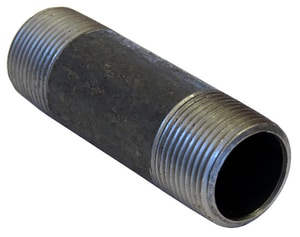 2-1/2 in. Threaded Schedule 80 Carbon Steel Nipple BNC