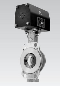 Pentair Valves & Controls K-Lok® 8 in. 150 psi Carbon Steel RTFE High Performance Butterfly Valve Gear Operator P080362CSS1TSG2