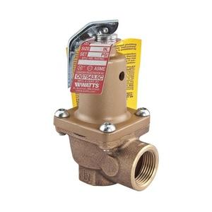 Watts 3/4 in. 40 psi Pressure Relief Valve W174A40F