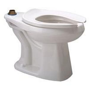 Zurn Industries EcoVantage® 1.28 gpf Floor Mount Back Outlet Elongated Toilet Bowl ZZ5665BWLBA