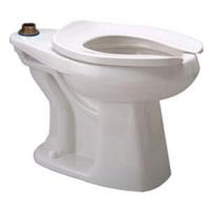 Zurn Industries EcoVantage® Elongated Floor Mount Toilet Bowl ZZ5665BWLBA