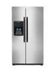 Frigidaire 26 CF Side-by-Side Refrigerator FFFHS2622M