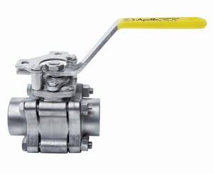 Apollo Conbraco 83B-200 Series CF8M Stainless Steel Full Port Socket Weld 600# Ball Valve A86B2001