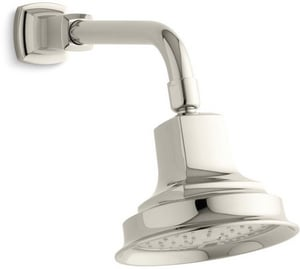 Kohler Memoirs® 5-1/2 in. 2 gpm 1-Function Wall Mount Showerhead with Air-Induction Spray K45410
