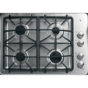General Electric Appliances Profile™ 30 in. 4 Sealed Built-In Gas Cooktop GPGP943SET