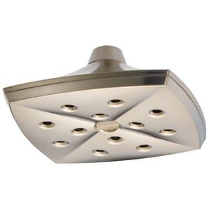 Delta Faucet Charlotte® 2.5 gpm Ceiling Mount Raincan Showerhead D81385
