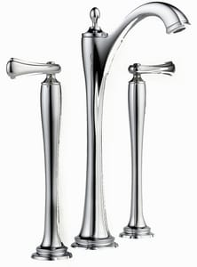 Brizo Charlotte® Double-Handle Widespread Vessel Lavatory Faucet D65485LFLHP
