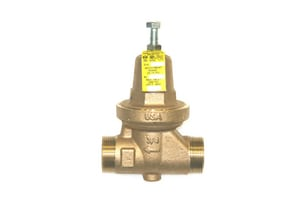 Apollo Conbraco Double Sweat Union Pressure Reducing Valve with Port A3650P1