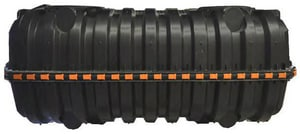 Infiltrator Systems 2-Compartment Inject Molded Tank with Plumbing IIM10602P