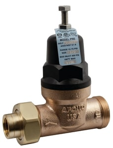 Apollo Conbraco 36ELF Series 400 psi Double Union x FNPT Thread Bronze Water Pressure Reducing Valve A36ELF1201T