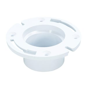 Weld-On Water Tite 3 in. Long Pattern Closet Flange Less Knockout I86151