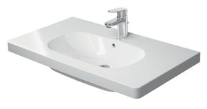 Duravit USA D-Code 3-Hole Wash Basin D034285302