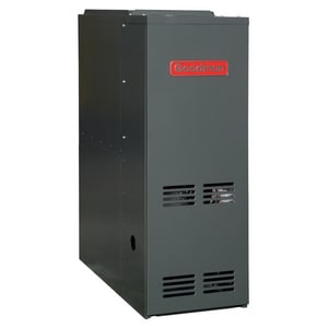 Goodman GDH8 Series 14 in. 60000 BTU 80% AFUE 3 Ton Two-Stage Downflow 1/3 hp Natural or LP Gas Furnace GGDH80603AX