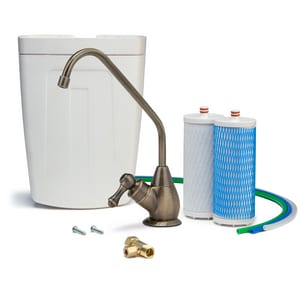 Sun Water Systems Aquasana Claryum™ 500 gal. Undercounter Water Filter in Dark Bronze AAQ450162