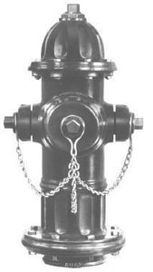 Mueller 4-1/2 in. A421 Hydrant with Left Opening Less Accessories MA421LAOLNST