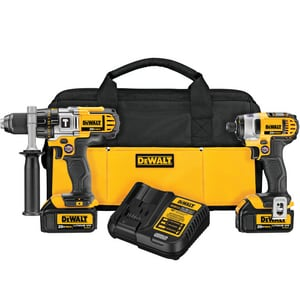 DEWALT 20 V Maximum Lithium-ion Hammer Drill And Impact DDCK290L2