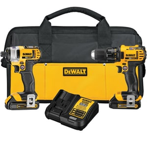 DEWALT Max® 20 V Maximum Lithium-ion Compact Drill And Impact DDCK280C2