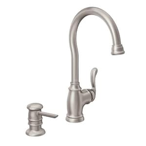 Moen 2.2 GPM 1-Handle Bar Faucet M87682SRS