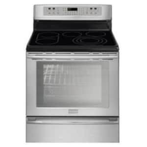 Frigidaire 30 in. 6 cf Electric Convection Oven Free Standing Range FFPEF3081MF