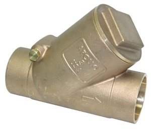 Apollo Conbraco 200 psi Bronze Sweat Swing Check Valve A61YLF0901