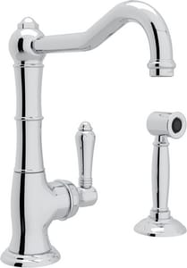 Rohl Cinquanta 1-Hole Deckmount Bar Faucet with Single Lever Handle RA365065LMWS2