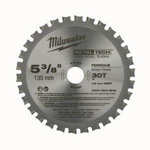 Milwaukee 30 Ton Metal Circular Saw Blade M48404070