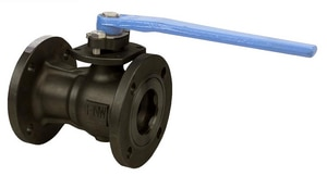 FNW 150 WSP 1-Piece Carbon Steel Flanged Reduced Port Ball Valve FNW501