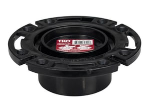 Sioux Chief TKO™ Tko 3 x 4 Abs DWV Closet Flange S883AT