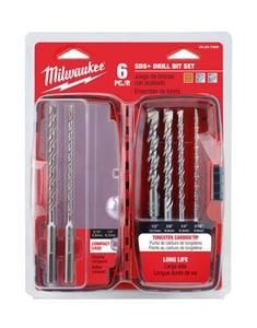 Milwaukee 6-Piece SDS Plus Bit Set M48207495