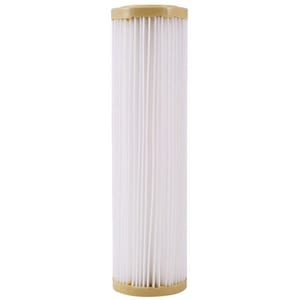 Watts 9-3/4 in. 1-Micron Standard Pleated Filter Cartridge WPWPL10M1 at Pollardwater