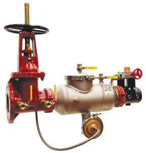 Apollo Conbraco Reduced Port Outside Stem and Yoke Gate Valve Backflow Preventer A4ALF20003